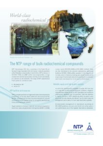 K-11417 NTP Radioisotopes_World-class radiochemical brochure_V11