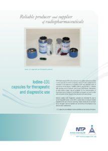 K-13725 NTP Radiopharm brochure