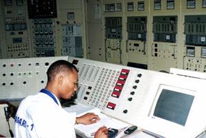 Later interior SAFARI-1 control room Safari (80)
