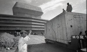 Reactor core arriving at SAFARI-1