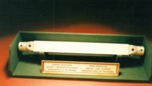 prototype fuel element made at pelindaba Safari -1