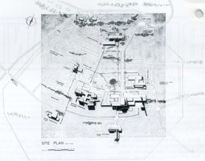 site plan for pelindaba May 1969 artefacts
