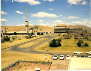 view from admin building to SAFARI 60s or 70s 17276